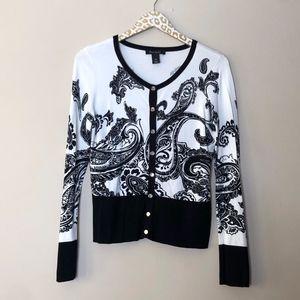 White House Black Market Cardigan Sweater | Medium